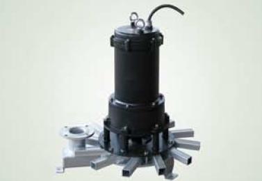 Submersible type aerator